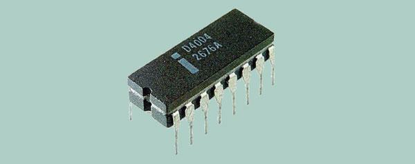 Nasce il primo microprocessore