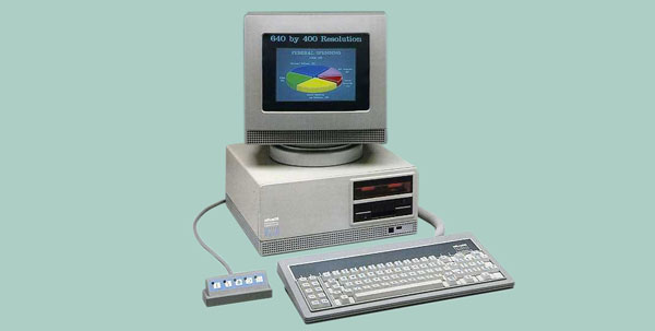 Sottsass disegna il PC M 24 per Olivetti